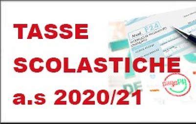 Esonero dalle tasse scolastiche as 2020/2021